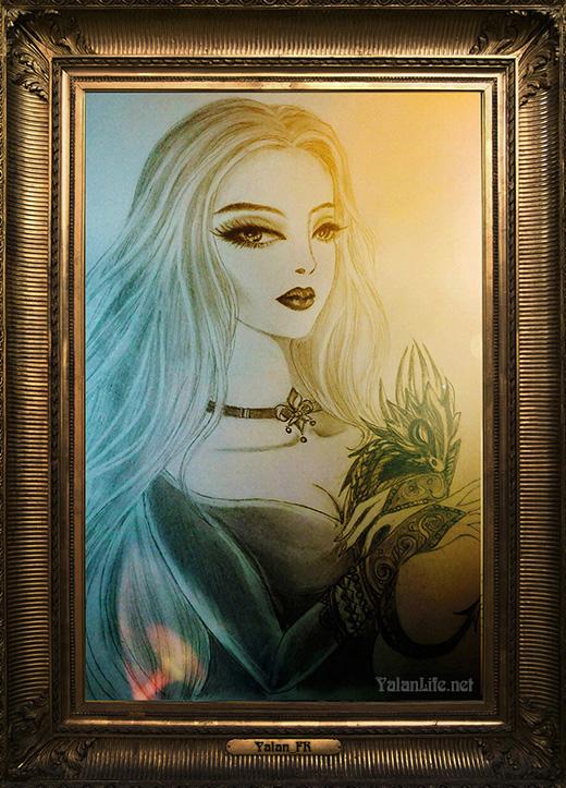 Taipei Life Art Illustration Fantasy Gothic Romanticism 台北生活 艺术插画 奇幻哥特 浪漫主义 Yalan雅岚文艺博客
